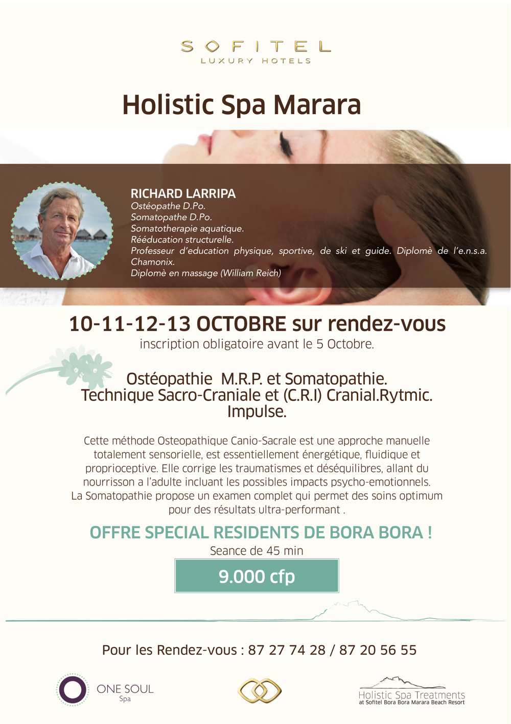 One Soul Spa Somatopathie Event