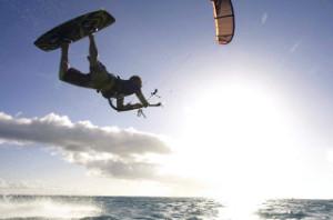 Kitesurfing Bora Bora