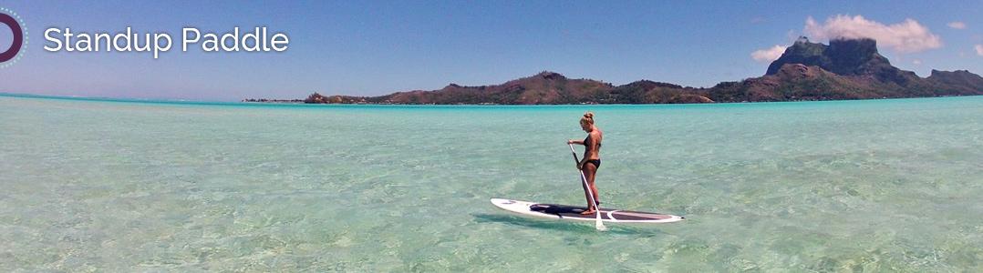Bora Bora Standup Paddle
