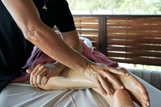 Feet and Legs Massage