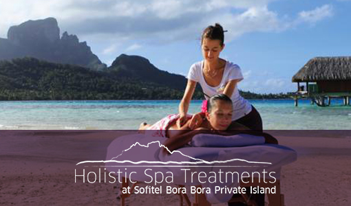 Holistic Spa Treatments on Sofitel Private Island