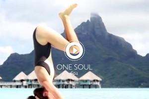 Paddle Yoga - One Soul Spa Bora Bora