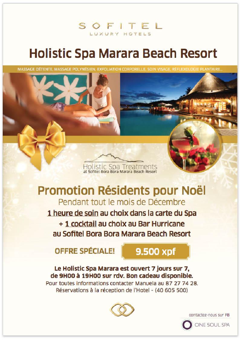 Promo Noel Marara Beach Resort Bora Bora